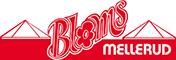 Bloms logo i Mellerud