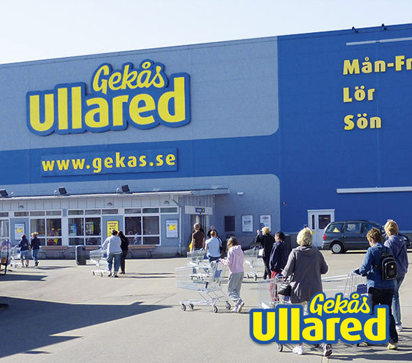 Gekås Ullared senter