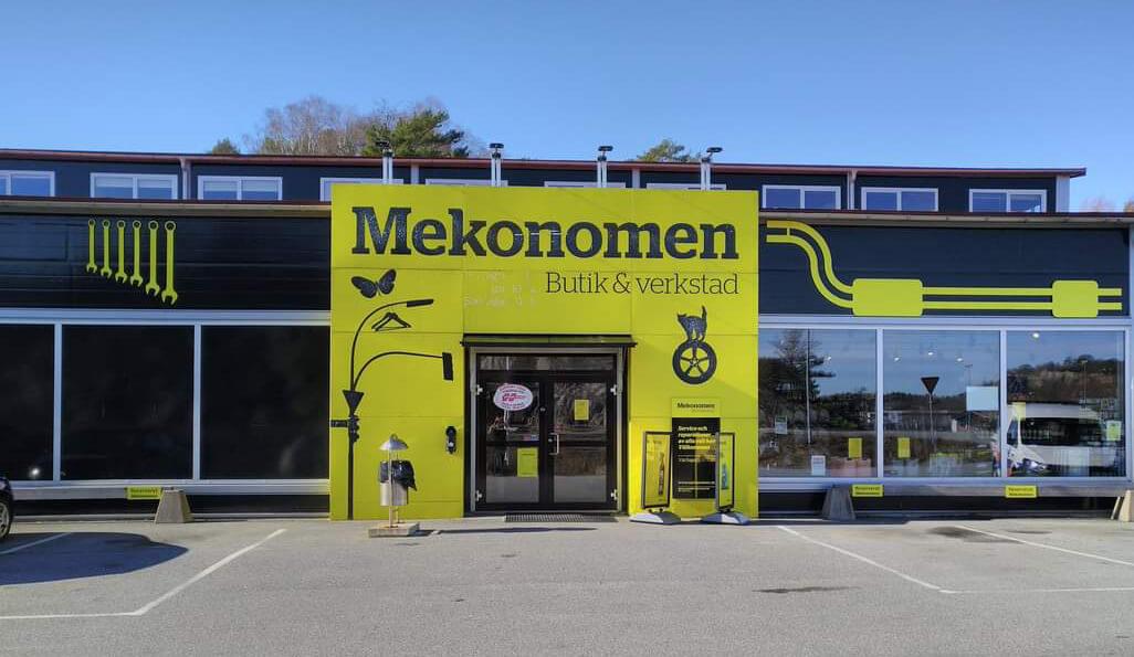 Mekonomen Strømstad - butikk og bilverksted