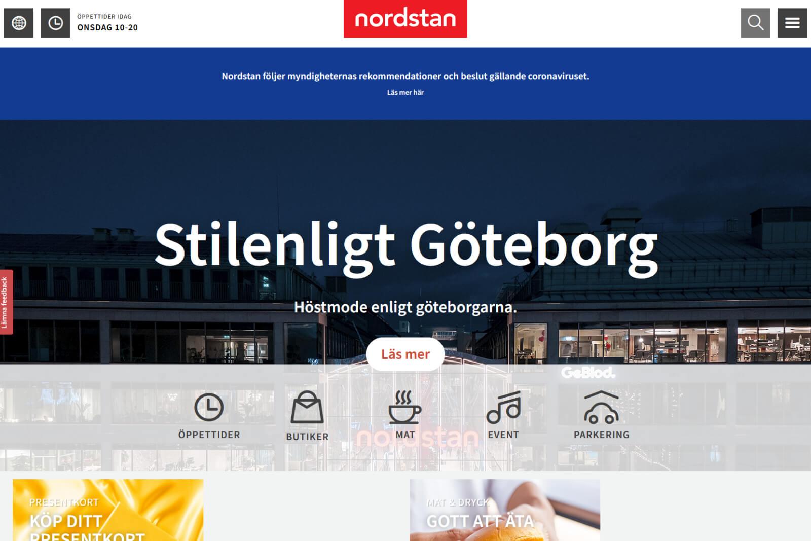 Nordstan i Göteborg