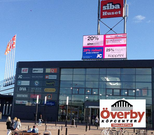 Trollhättan Shopping - ôverby köpcenter