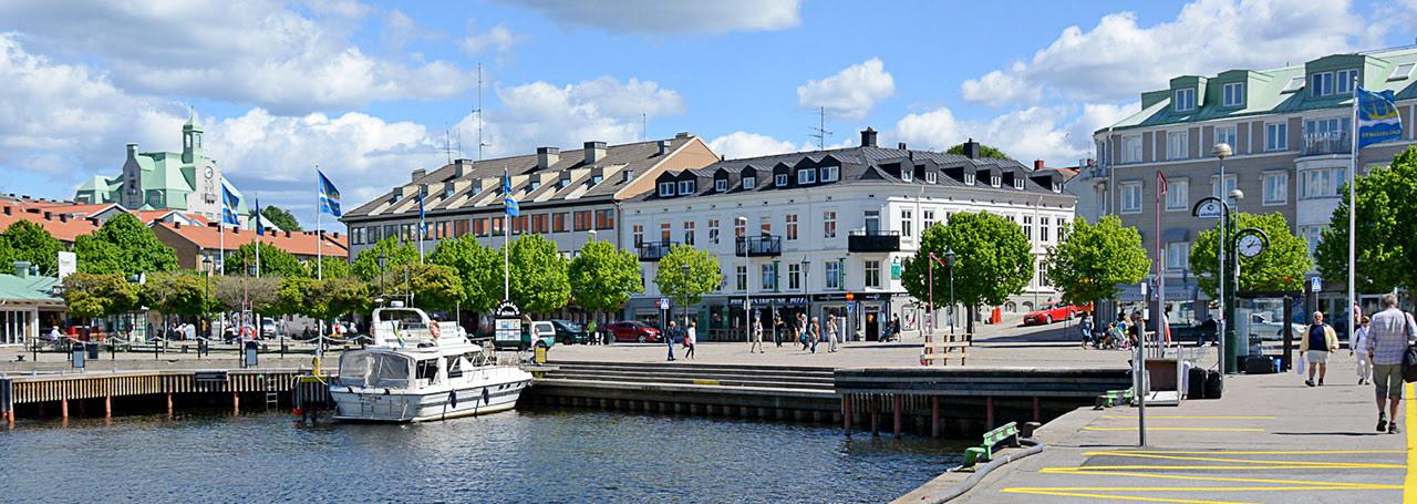 Strømstad havn - shopping i strømstad