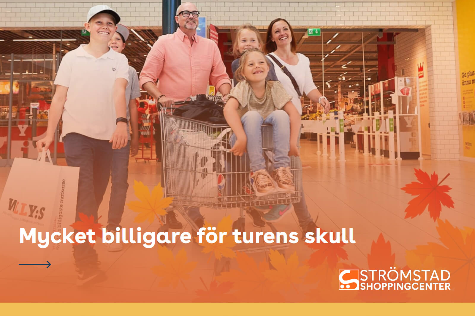 Strømstad shoppingcenter webside