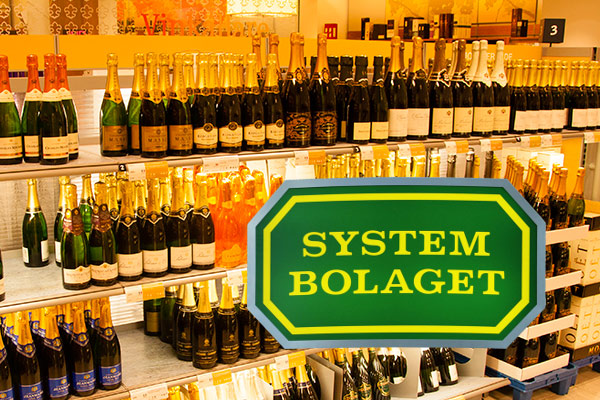 Systembolaget i Strømstad - logo på bildet