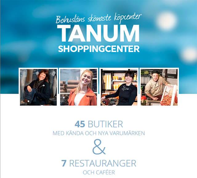 Tanumshede - Tanum Shoppingcenter webside